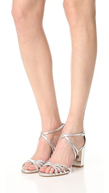 Badgley Mischka Tilden Block Heel Sandals