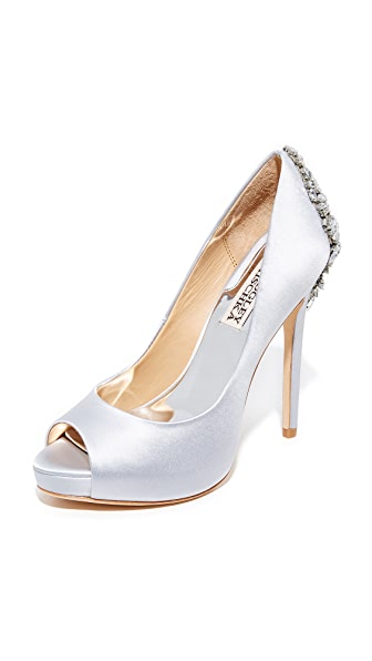 Badgley Mischka Kiara Pumps - Silver
