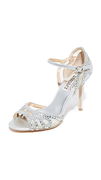 Badgley Mischka Tansy Sandals - Silver