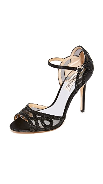 Badgley Mischka Tansy Sandals - Black