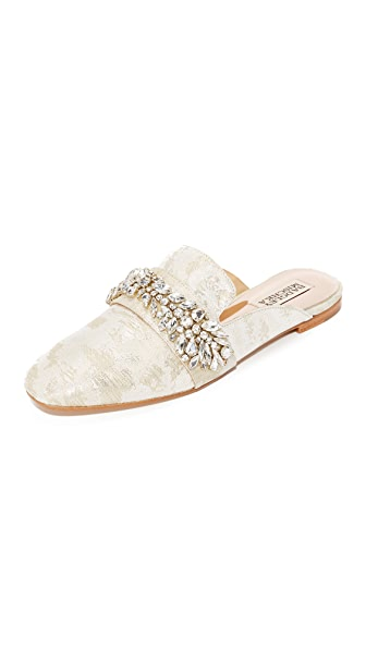 Badgley Mischka Kana Mules - Cream