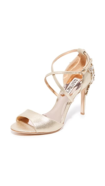 Badgley Mischka Karmen II Sandals - Platino