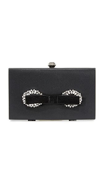 Badgley Mischka Autumn Clutch In Black