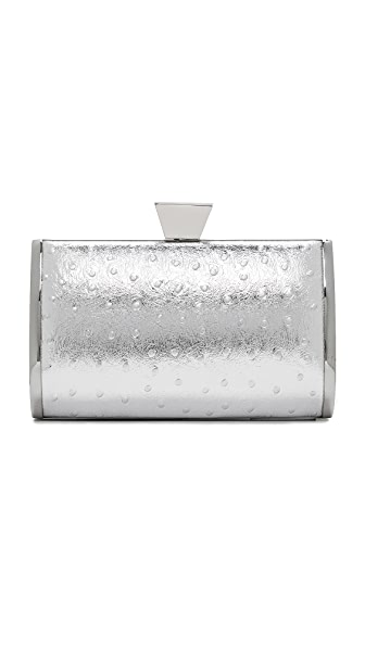 Badgley Mischka Barbie Clutch - Silver