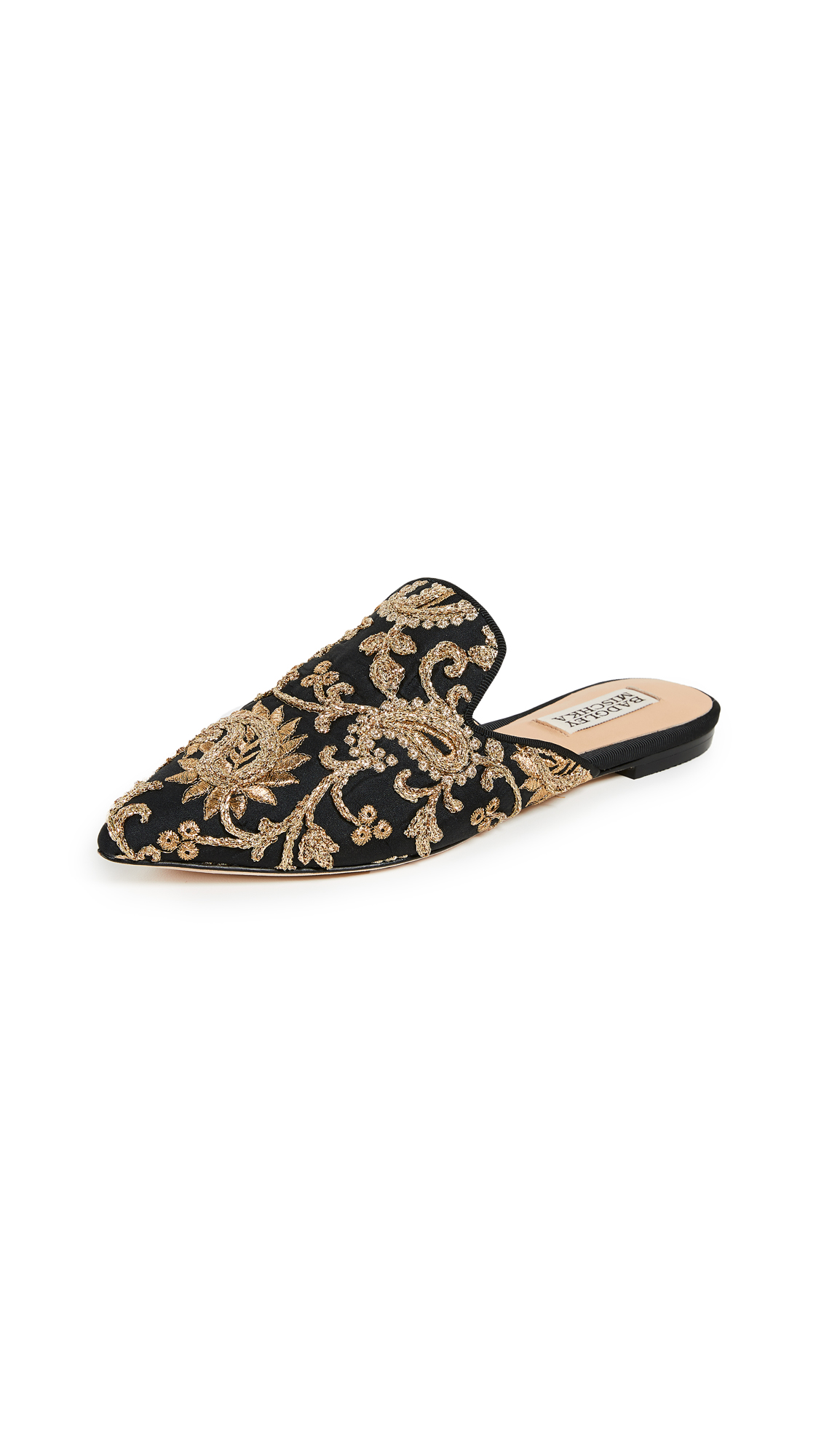 Badgley Mischka Phoebe Point Toe Mules