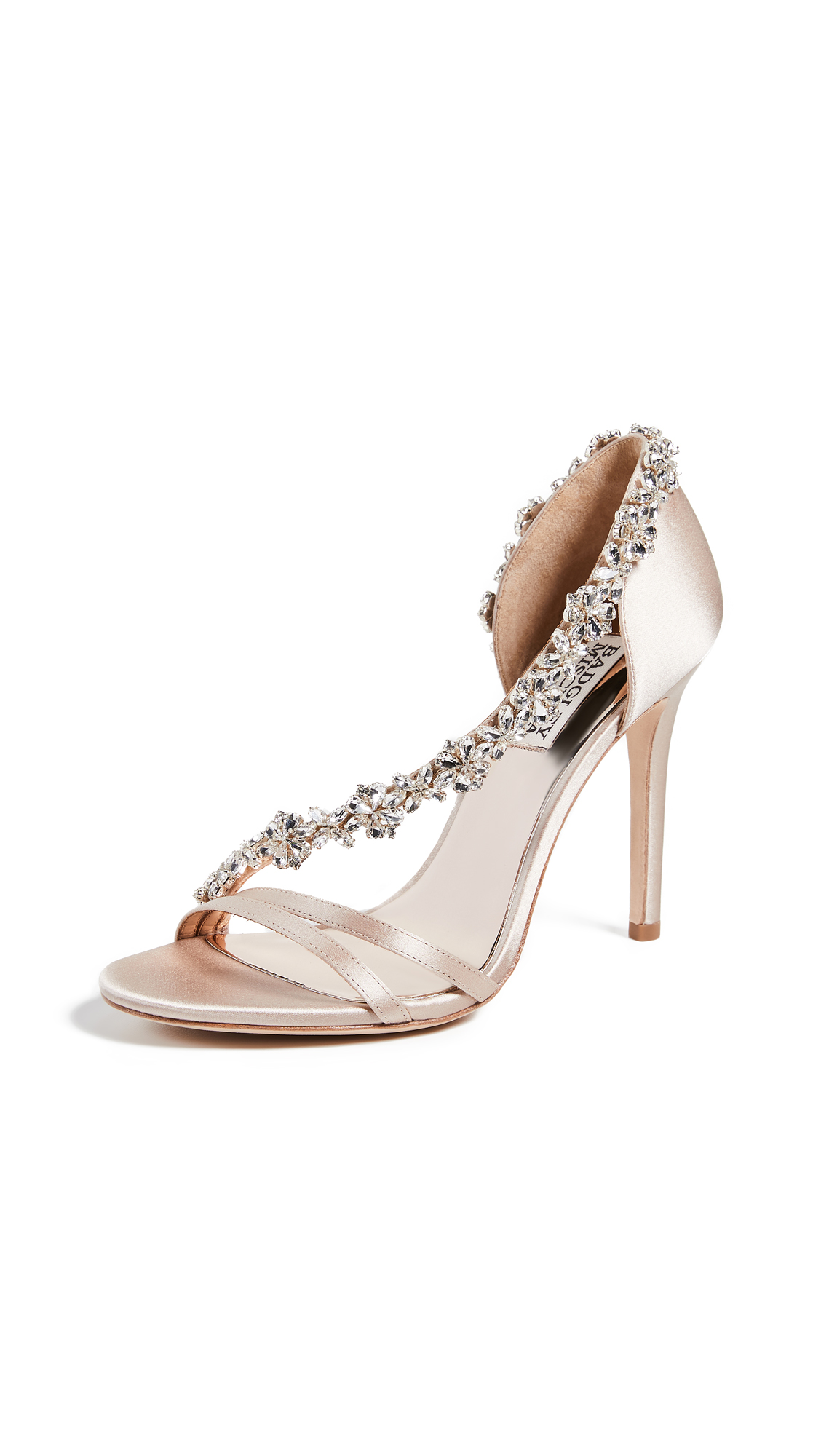 Badgley Mischka Voletta Asymmetrical Sandals