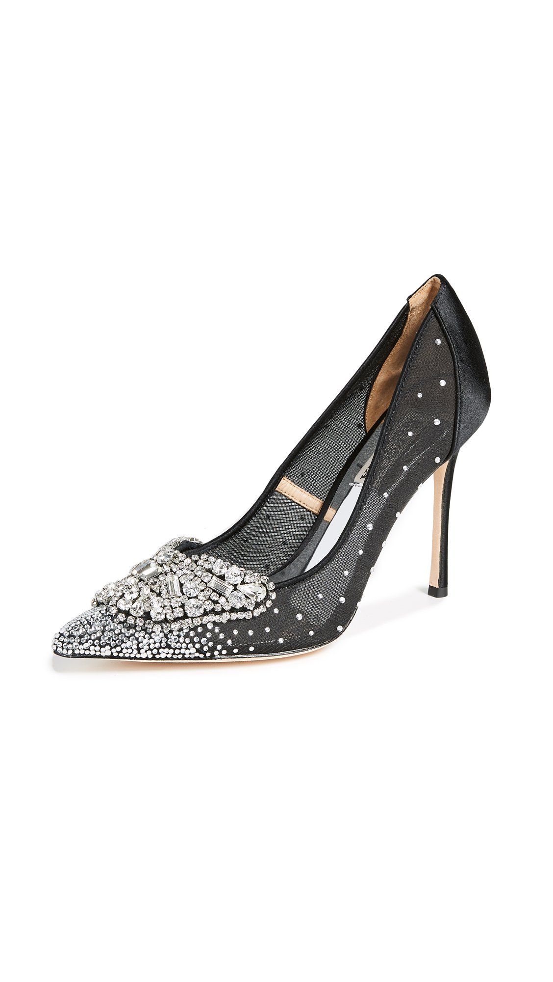 Badgley Mischka Quintana Pointed Toe Pumps - Black