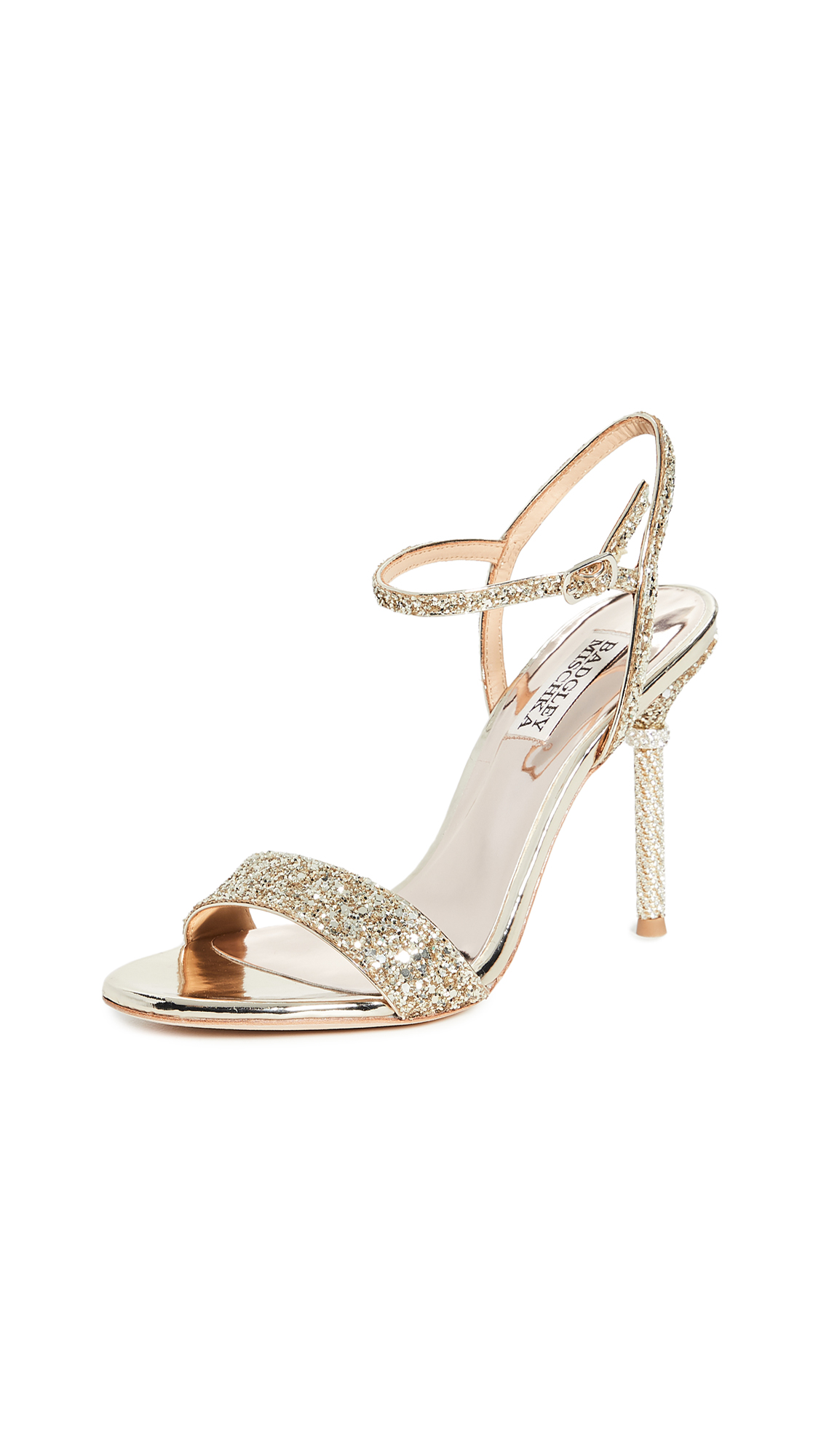 Photo of Badgley Mischka Olympia Strappy Sandals - shop Badgley Mischka Sandals, Flat online