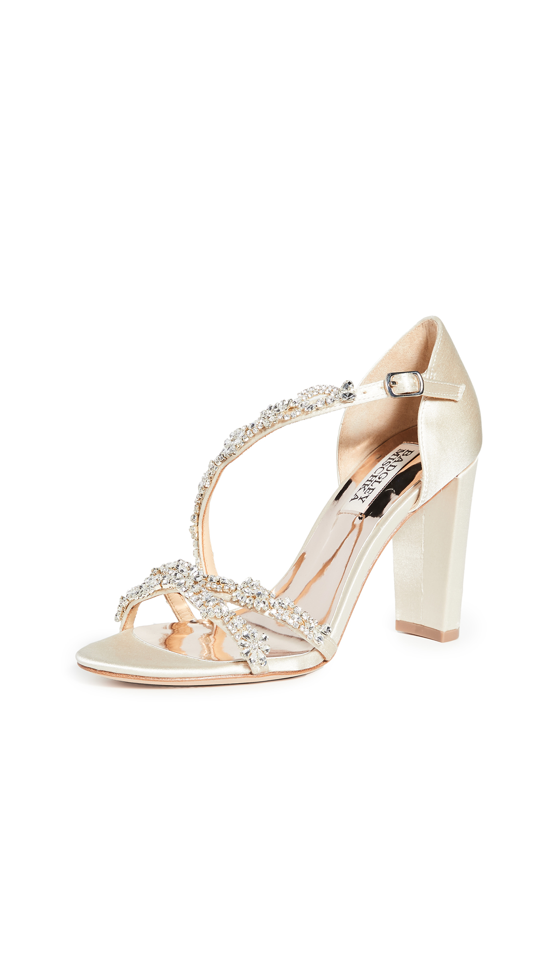 Badgley Mischka Omega Strappy Sandals - 70% Off Sale