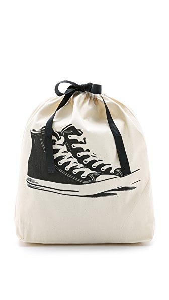 Bag-all Sneaker Organizing Bag - Natural/Black