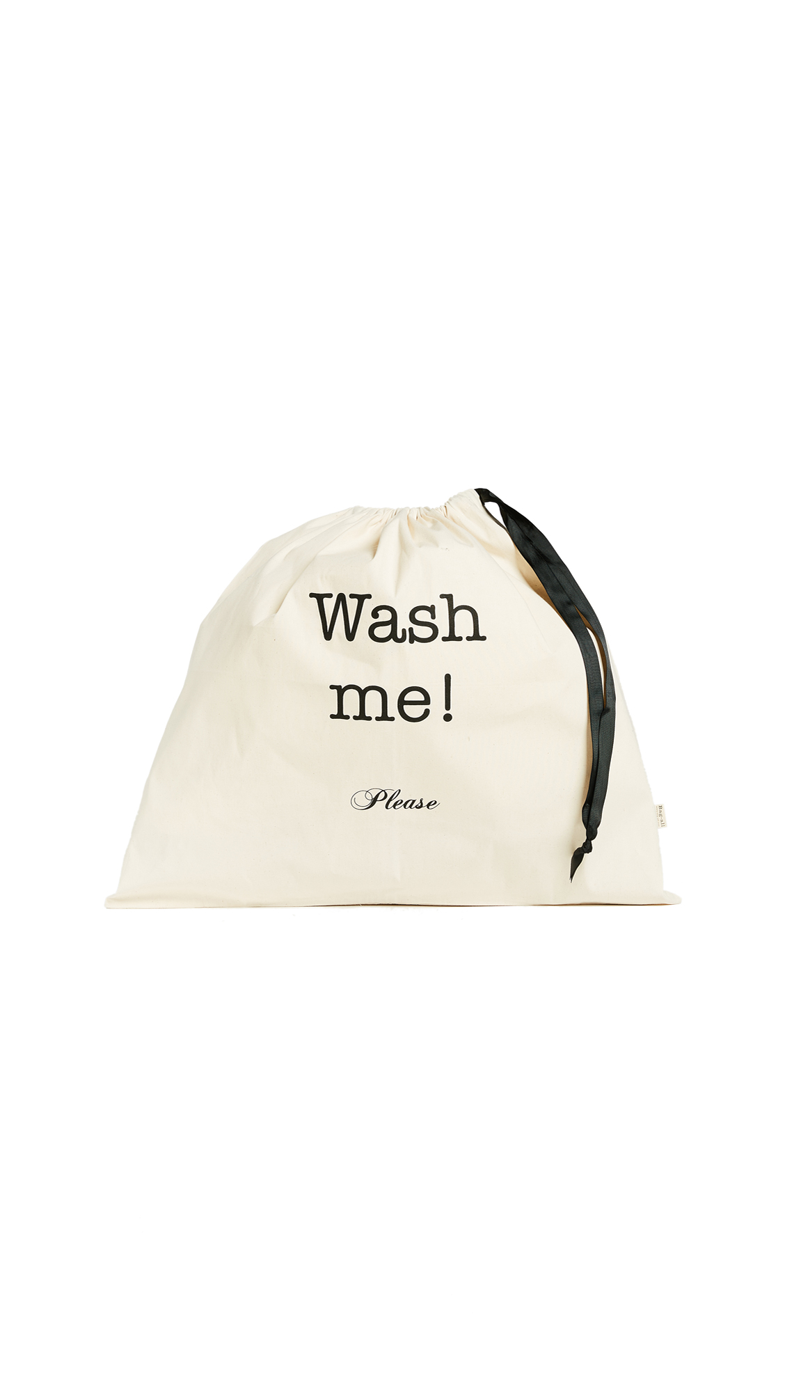 Bag-all Wash Me Large Organizing Bag - Natural/Black