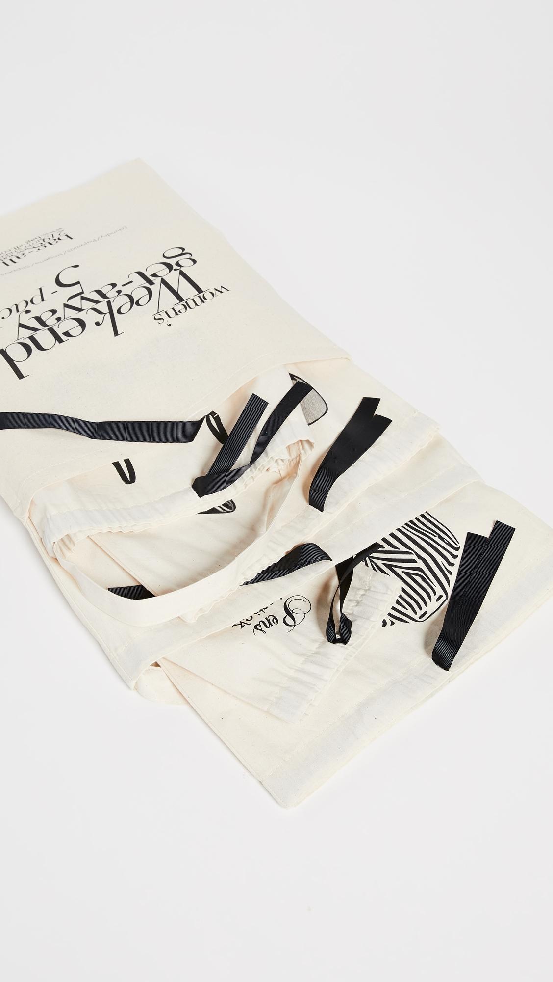 Набор женских сумок для поездок на выходные Bag-all  (BAGAL3003812585314)