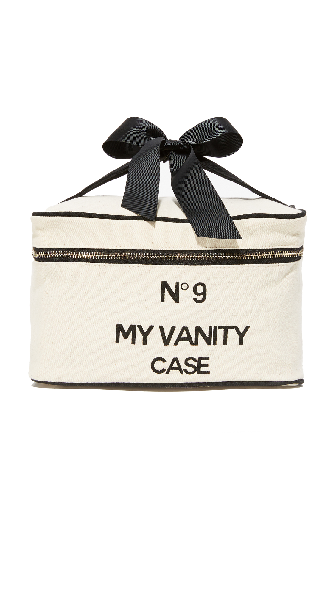 Bag-all My Vanity Travel Case - Natural/Black