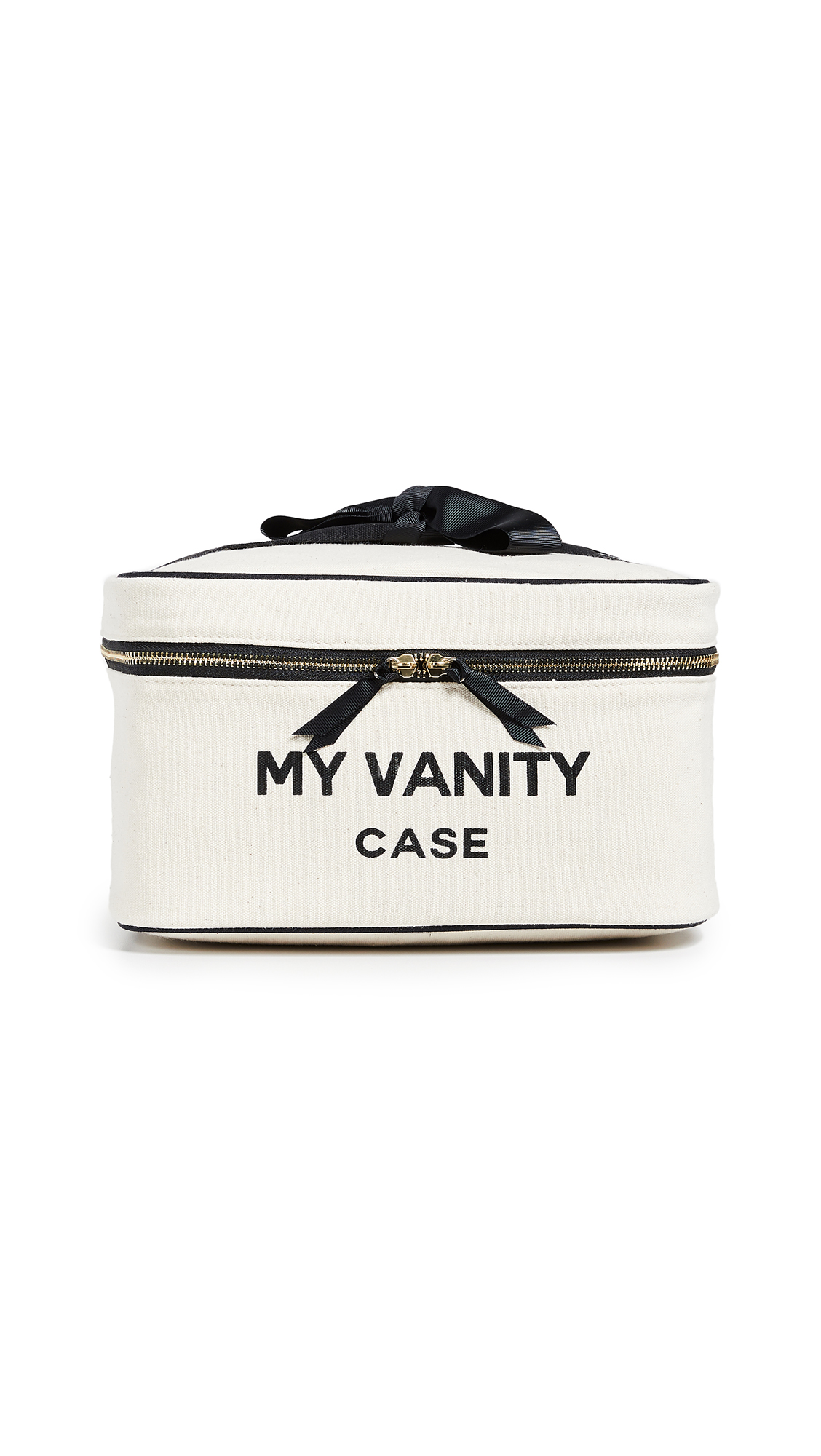 BAG-ALL My Vanity Travel Case in Natural/Black