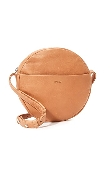 BAGGU Circle Cross Body Bag - Saddle