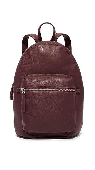 Baggu Leather Backpack - Oxblood at Shopbop