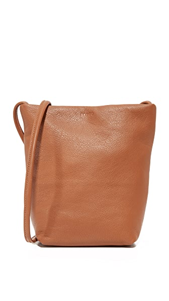 BAGGU New Cross Body Bag - Saddle