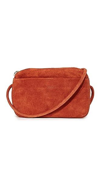 BAGGU Mini Purse - Rust