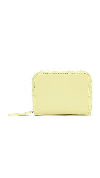 BAGGU Short Wallet - Soft Yellow