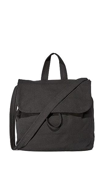 BAGGU Canvas Shoulder Bag - Black