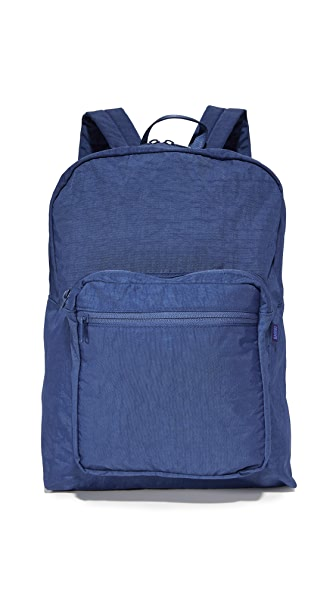 BAGGU School Backpack In Indigo