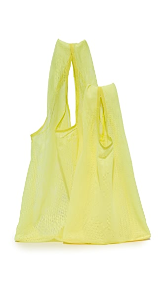 BAGGU Mesh Bag Set - Citron