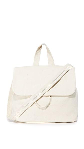 BAGGU Canvas Shoulder Bag In Canvas