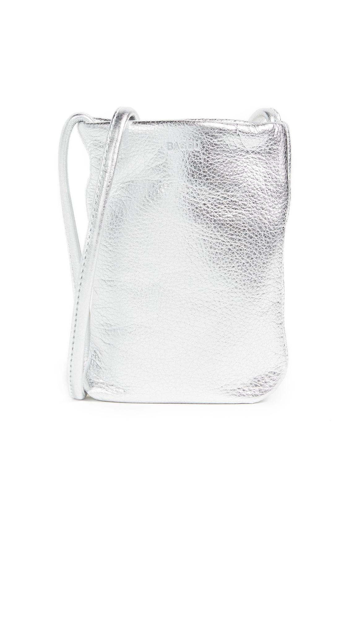 BAGGU Phone Sling - Silver