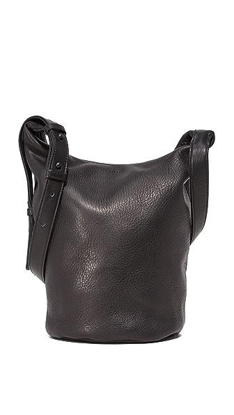 BAGGU Zip Bucket Bag - Black