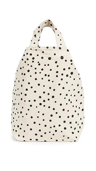 BAGGU Duck Bag In Paint Dot