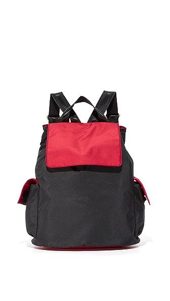 Bag Studio Backpack - Black/Red at Shopbop