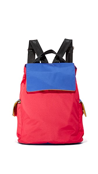 Bag Studio Backpack - Red/Blue/Yellow at Shopbop