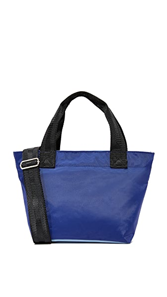 Studio 33 Small Tote - Navy/Light Blue