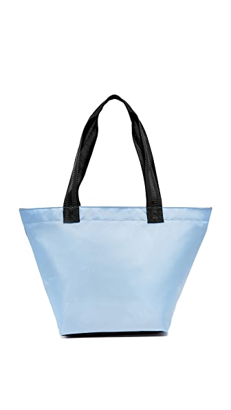 Studio 33 Medium Tote - Light Blue/Black