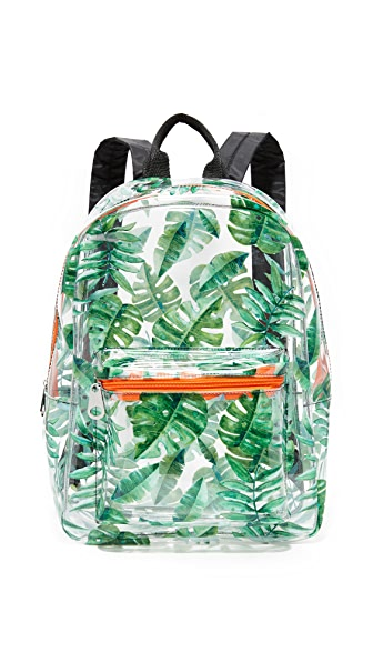 Studio 33 Backpack - Clear Summer Leaves