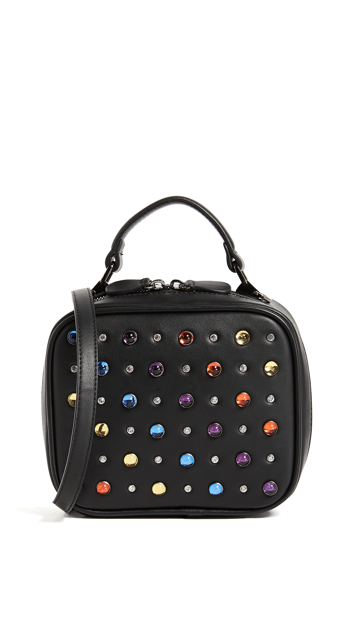 Studio 33 Multi Jewel Box Bag - Black
