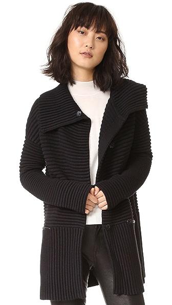 Bailey44 Cornell Sweater Coat - Black