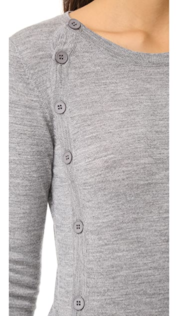 Bailey44 Crew Side Button Cardigan