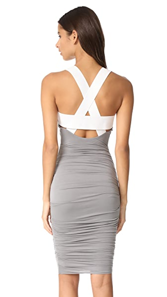Bailey44 Crossbar Dress - Cement