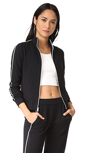 Bailey44 Track Jacket In Black