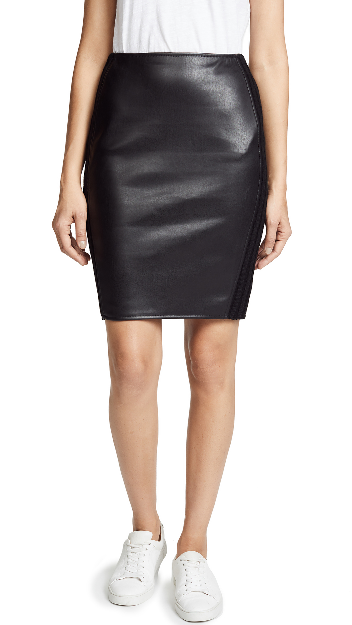 BAILEY44 TOLSTOY FAUX LEATHER SKIRT