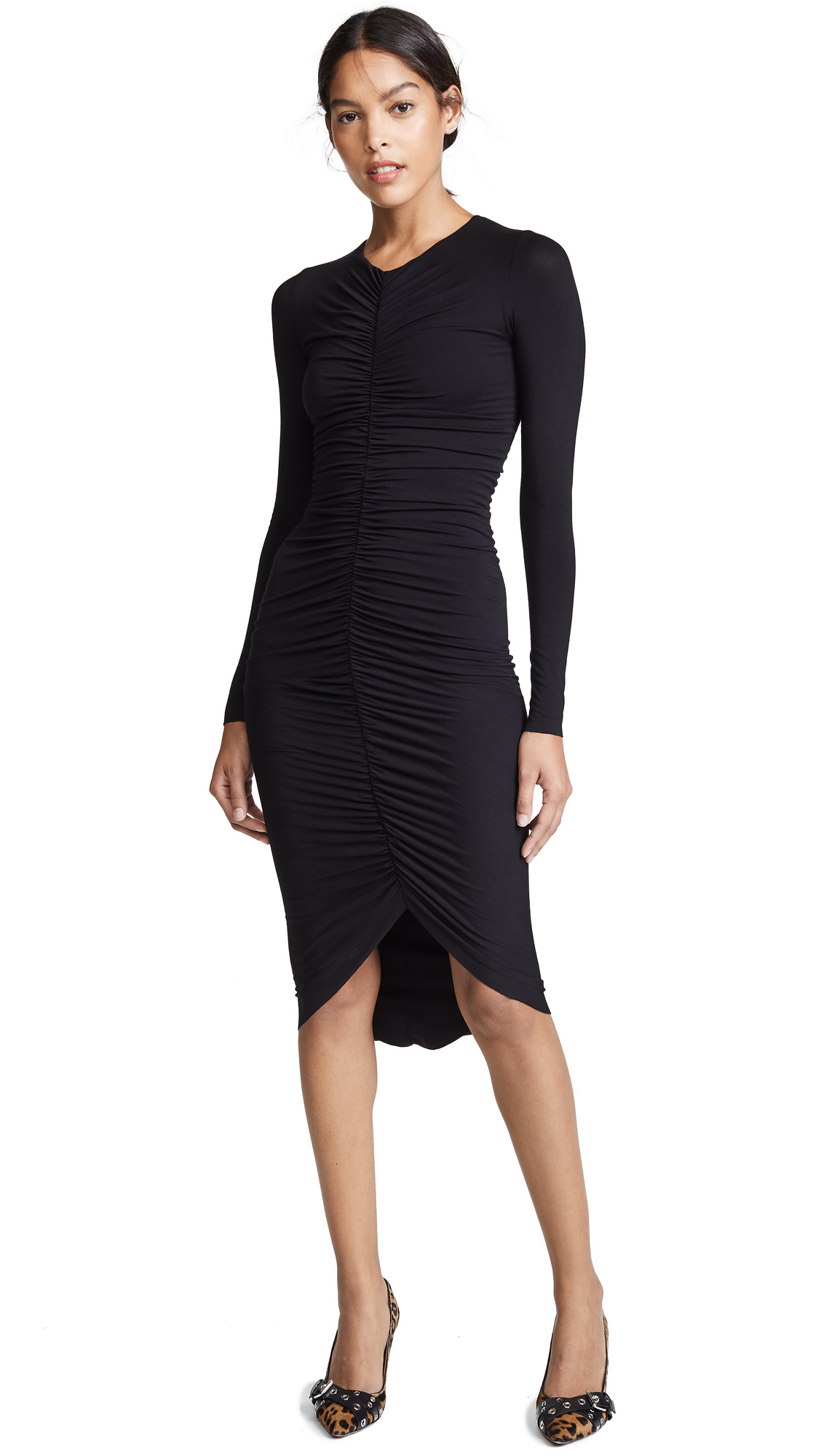 Bailey44 High Roller Ruched Front Dress 3eedbfd38