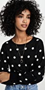 Bailey44 Addie Polka Dot Sweater