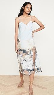Baja East Платье-комбинация