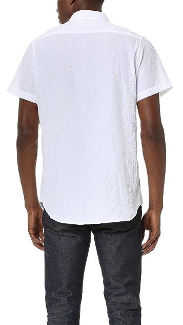 Baldwin Denim Miles Short Sleeve Shirt