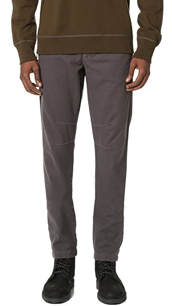 Baldwin Denim Liam Stretch Cotton Moleskin Trousers