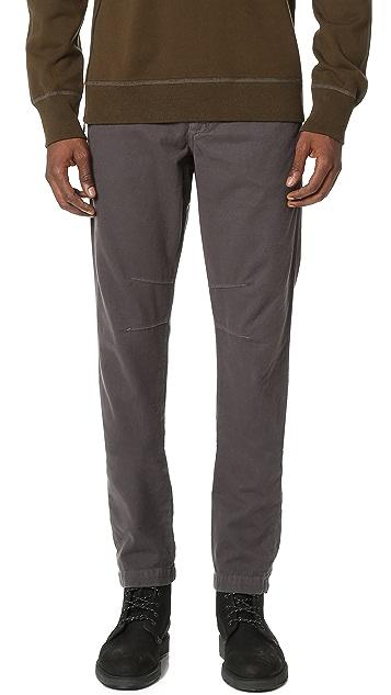 Baldwin Denim Liam Stretch Cotton Moleskin Trousers