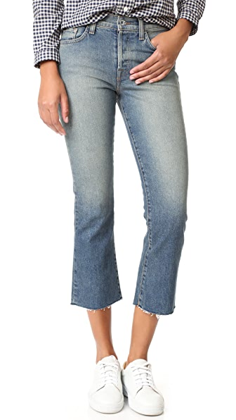 Baldwin Denim Maxwell Cropped Jeans - Traction