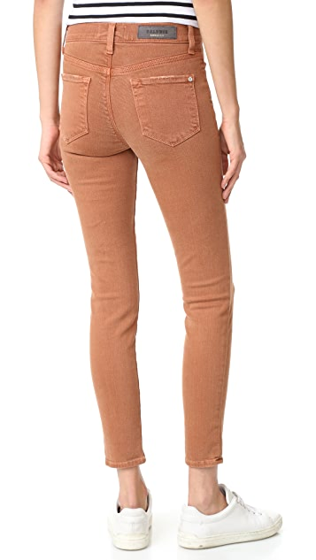 Baldwin Denim Rivington High Rise Crop Jeans