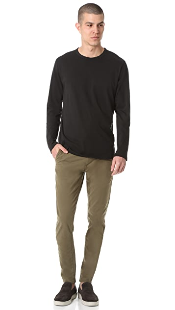 Baldwin Denim Long Sleeve Pima Tee